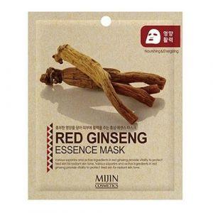Essence Маска тканевая красный женьшень Mijin Red Ginseng Essence Mask 25 г