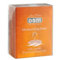 Мыло для тела и лица Mon Platin DSM увлажняющее с молоком, медом, прополисом и маточным молочком 120 г.