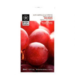 Сыворотка для лица Bodyfarm (Бодифарм) с эффектом лифтинга красный виноград 30 мл