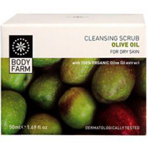 Скраб для лица Bodyfarm (Бодифарм) с оливковым маслом 50 мл