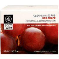 Скраб для лица Bodyfarm (Бодифарм) красный виноград 50 мл
