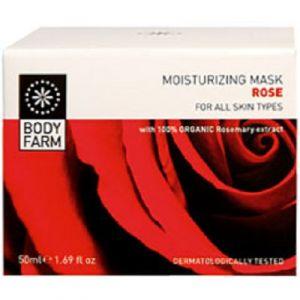 Маска для лица Bodyfarm (Бодифарм) роза 50 мл