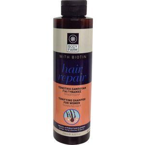 Шампунь для волос Bodyfarm (Бодифарм) тонизирующий для женщин 250 мл