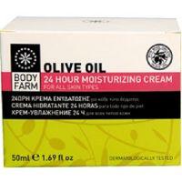 Крем для лица Bodyfarm (Бодифарм)24ч увлажняющий с оливковым маслом 50мл