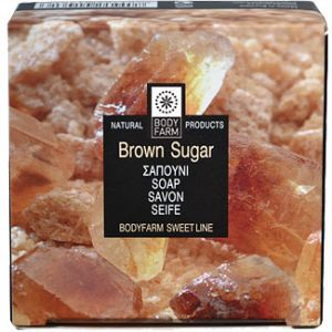 Мыло для тела и лица Bodyfarm (Бодифарм) коричневый сахар 100 г