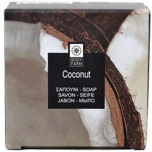 Купить Мыло для тела и лица Bodyfarm (Бодифарм) кокос 110гр