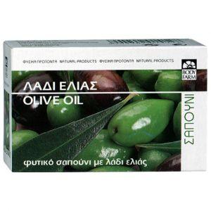 Мыло для тела и лица Bodyfarm (Бодифарм) с оливковым маслом 125гр
