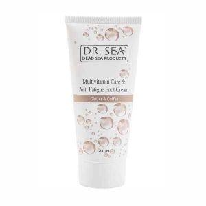Крем для ног Dr. sea (Доктор Си) Мультивитаминный против усталости с экстрактом имбиря и кофе 200 мл
