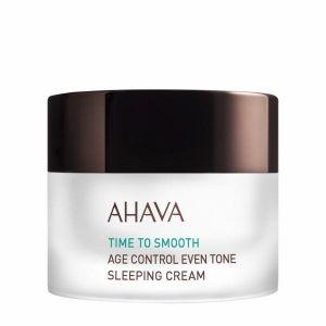 Крем для лица Ahava (Ахава) Time to Smooth антивозрастной, омолаживающий, ночной, питательный 50 мл