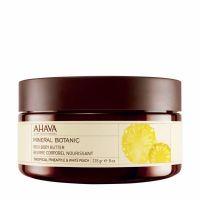 Крем-масло для тела Ahava (Ахава) Mineral Botanic - SPA тропический ананас - белый персик питательное 235 мл