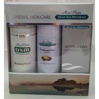 Подарочный набор для мужчин для лица Mon Platin DSM (эмульсия после бритья 150 мл, Пена для бритья 250 мл, Дезодорант)