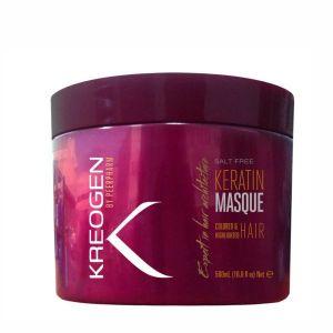 Маска для волос Kreogen (Криоджен) Бессолевая кератиновая для окрашенных и обесцвеченных 500 мл