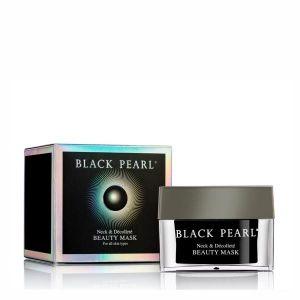 Маска для шеи и зоны декольте Black Pearl (Sea of Spa) для увлажнения и выравнивания кожи 50 мл