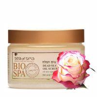 Масло-Скраб для тела Bio Spa (SEA OF SPA) NEW 350мл Роза