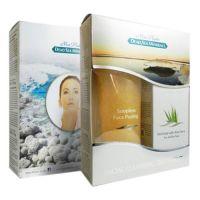 Подарочный набор для женщин для лица (Крем-пилинг желтый + Грязевая маска) Mon Platin DSM 400 мл
