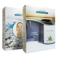 Подарочный набор для женщин для лица (Крем-пилинг сиреневый + Грязевая маска) Mon Platin DSM 400 мл