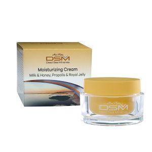 Крем для лица Mon Platin DSM увлажняющий молоко и мёд, прополис и пчелиное молочко 50 мл
