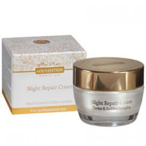 Восстанавливающий ночной крем, обогащенный экстрактом черной Mon Platin Gold Edition, 50 мл