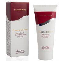 Средство для восстановительного ухода за волосами с добавкой черной икры Термо Билдер Mon Platin Professional, 200 мл