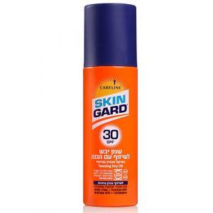 Сухое масло для равномерного бронзового загара SPF 30 SkinGard Careline 200 мл