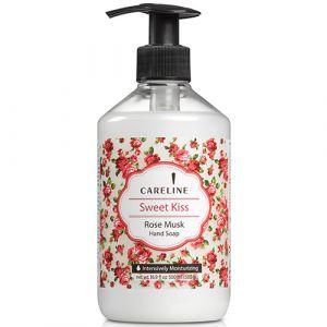Жидкое мыло «Сладкий поцелуй» Роза Careline 500 мл