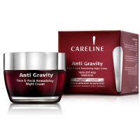 Моделирующий ночной крем для лица и шеи Careline Anty-Gravity 50 мл