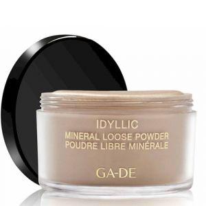 Минеральная рассыпчатая пудра, тон 100 Nude Ga-de Idyllic Mineral Loose Powder, 25 г