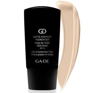 Матирующий тональный крем SPF 18 для жирной и комбинированной кожи № 101 Ga-de Matte Perfect Foundation Oil-free SPF 18, 30 мл