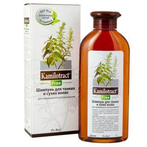 Шампунь для тонких и сухих волос Kamilotract, 125 мл