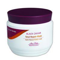 Маска для волос Mon Platin с экстрактом чёрной икры для выпрямления волос, 500 мл
