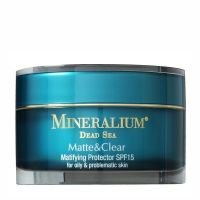 Крем для лица Mineralium (Минералиум) Защитное средство с матовым эффектом SPF15 для жирной и проблемной кожи 50 мл
