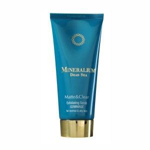 Гоммаж для лица Mineralium (Минералиум) Отшелушивающее средство (гоммаж) для нормальной и жирной кожи 100 мл