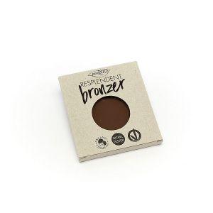 Бронзер Рефил PuroBio (ПуроБио) Цвет № 4 грязно-коричневый 9 мл