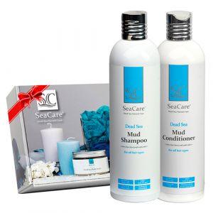 Подарочный набор: шампунь и бальзам для волос SeaCare Hair kit, 400 мл x 2