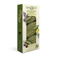 """Подарочный набор натурального мыла для тела Aphrodite (Афродита) """"Ароматные травы"""" 255 г"""