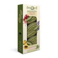 """Подарочный набор натурального мыла для тела APHRODITE (АФРОДИТА) """"Бодрящие ароматы""""  255 гр"""