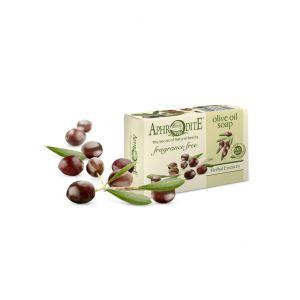 Мыло для рук и тела Aphrodite (Афродита) Натуральное оливковое без отдушек 100 г