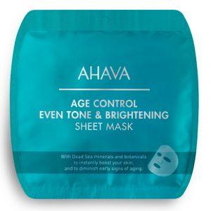 Тканевая маска выравнивающая цвет кожи Time To Smooth Ahava 17 г