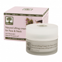 Лифтинг-крем для лица Bioselect (БиоСелект) Натуральный укрепляющий, восстанавливающий упругость кожи лица и шеи 50 мл