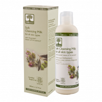 Молочко для лица Bioselect (БиоСелект) очищающее для всех типов кожи 200 мл