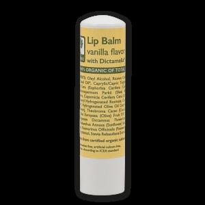 Бальзам для губ Bioselect (БиоСелект) с ароматом ванили и dictamelia *15 мл