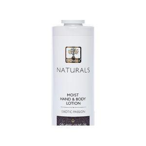 Нежное увлажняющее молочко для рук и тела Экзотическая страсть Bioselect Naturals 250 мл