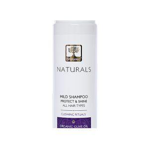 Мягкий шампунь для всех типов волос с арганой— Защита и блеск Bioselect Naturals 250 мл