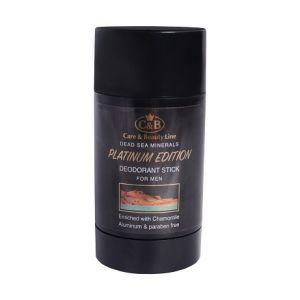 Дезодорант-стик для мужчин PLATINUM EDITION- Care & Beauty Line, 80 мл
