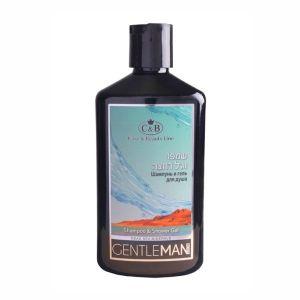 Шампунь и гель для душа мужской GentleMan Care & Beauty Line, 400мл