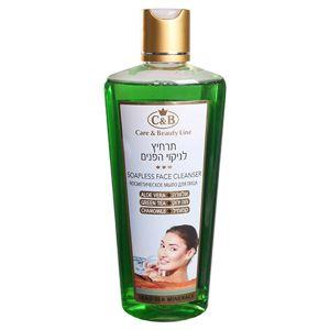 Косметическое мыло для лица с алое вера, зелёным чаем и ромашкой -Care & Beauty Line, 250 мл