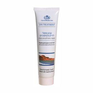 Крем для рук и ногтей с минералами Мертвого моря Care & Beauty Line 100 мл