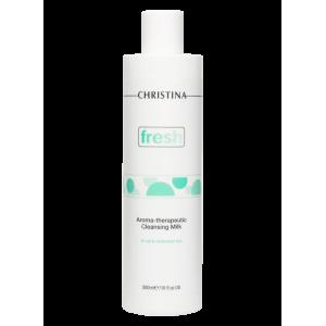 Ароматерапевтическое очищающее молочко для жирной кожи Fresh Aroma Therapeutic Cleansing Milk for oily skin Christina (Кристина), 300 мл