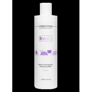 Ароматерапевтическое очищающее молочко для сухой кожи Fresh Aroma Therapeutic Cleansing Milk for dry skin Christina (Кристина), 300 мл