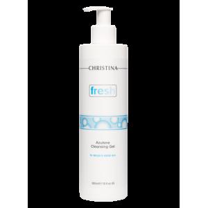 Азуленовый очищающий гель для чувствительной и склонной к покраснениям кожи Fresh Azulene Cleansing Gel for delicate & reddish skin Christina (Кристина), 300 мл